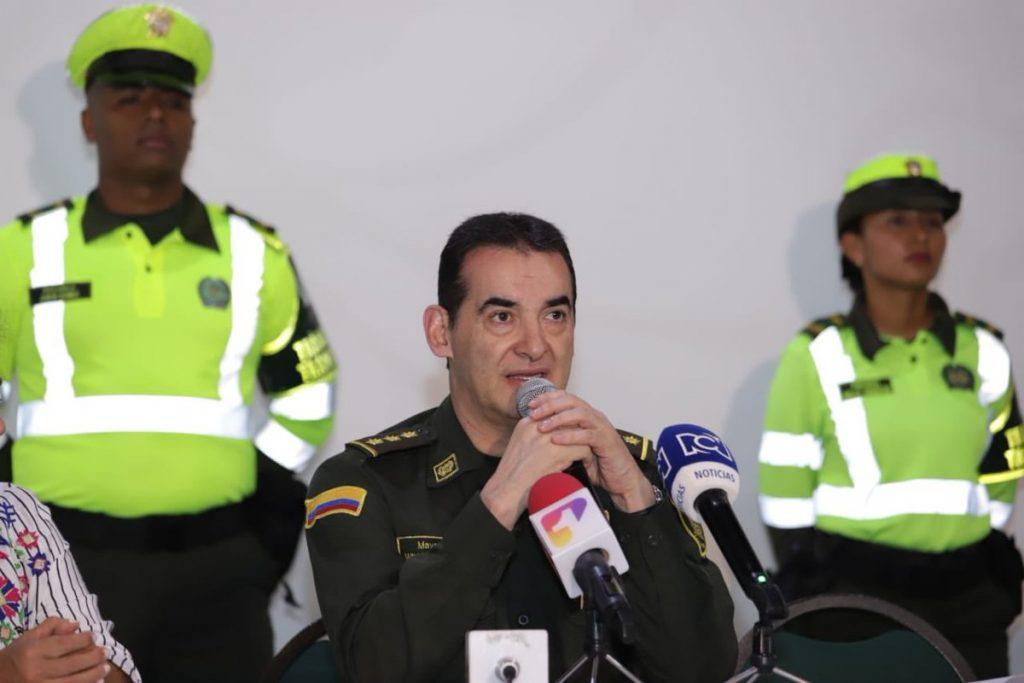 Coronel José Gualdrón Director (E)Policía de Transito